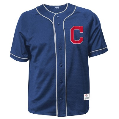 MLB Cleveland Indians Men's Button-Down Jersey