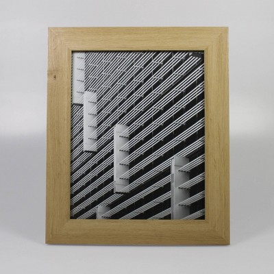 "8"" x 10"" Wide Single Picture Frame Natural - Made By Design™"