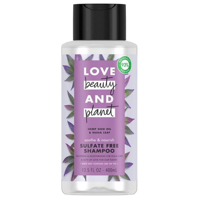 Love Beauty And Planet Hemp Seed Shampoo - 13.5 Fl Oz : Target