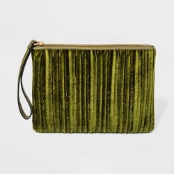 Zip Closure Wristlet Pouch - A New Day™