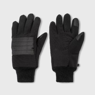 Men's Quilted Ski Gloves - Goodfellow & Co™ Black