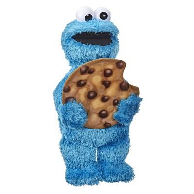 Sesame Street Peekaboo Cookie Monster Figure