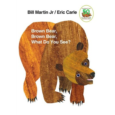 Brown Bear Brown Bear by Bill Martin (Board Book)