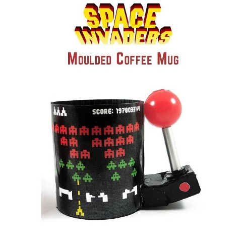 Just Funky Space Invaders 3D Arcade Molded 16oz Coffee Mug - image 1 of 1