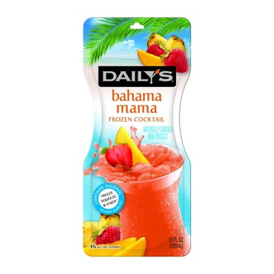 Daily's Bahama Mama Frozen Cocktail - 10 fl oz Pouch
