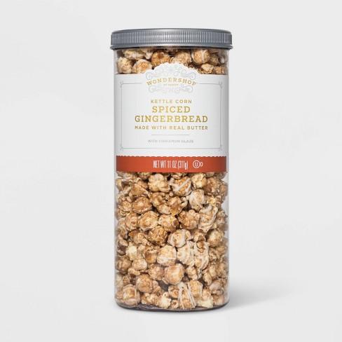 Spiced Gingerbread with Cinnamon Glaze Kettle Corn - 11oz - Wondershop™ - image 1 of 1