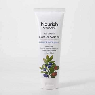 Nourish Organic Age Defense Cleanser - 4.0 fl oz