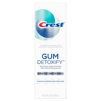 Crest Gum Detoxify Gentle Whitening Toothpaste For Gum Care - 4.1oz