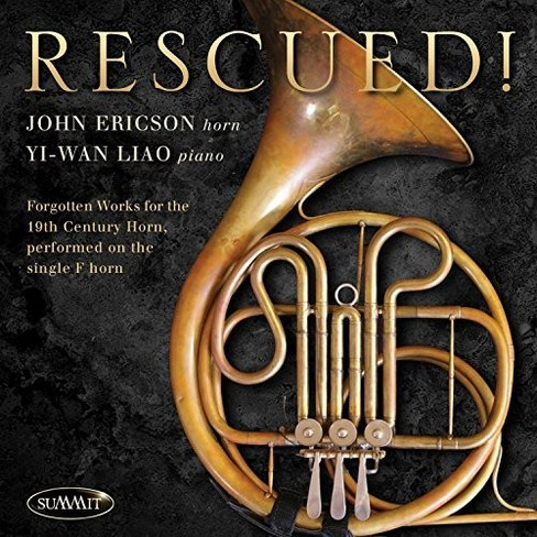 John Ericson - Rescued:Forgotten Works For 19th Cent (CD) - image 1 of 1