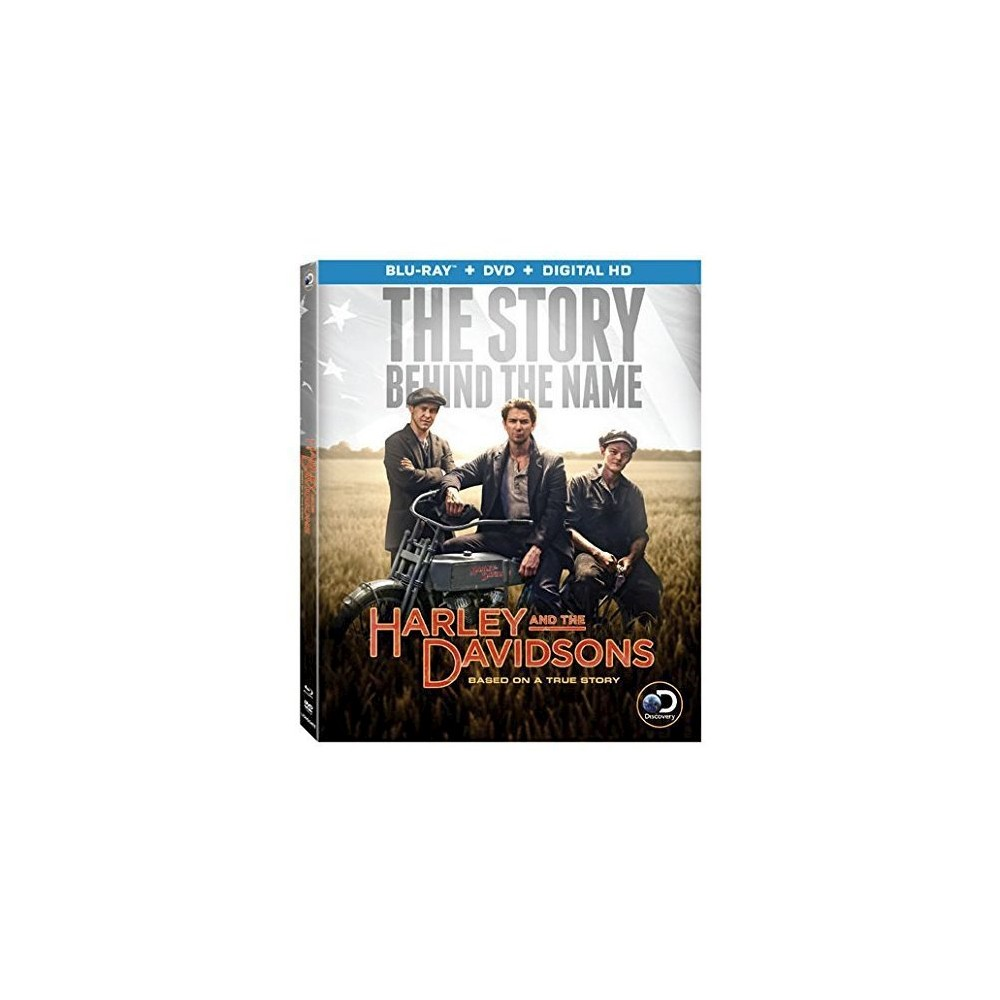 Harley And The Davidsons (Blu-ray + Dvd + Digital)