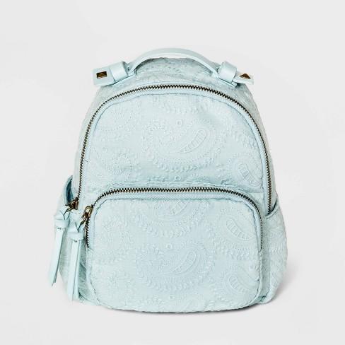 Girls' Eyelet Paisley Mini Backpack - art class™ - image 1 of 3