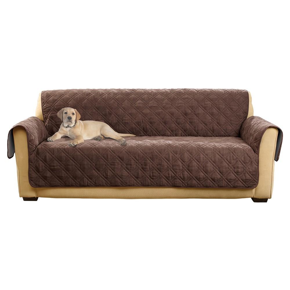 Non Slip Waterproof Sofa Furniture Protector Chocolate Sure Fit