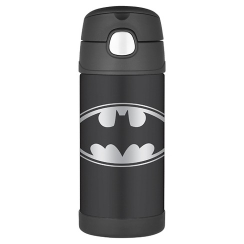 Thermos® Batman 12oz FUNtainer Bottle - Black - image 1 of 4