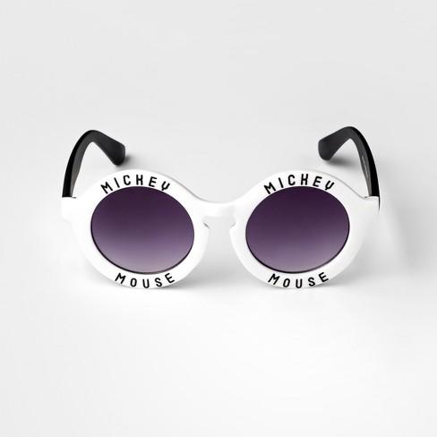 Women\'s Disney Mickey Mouse Sunglasses - White : Target