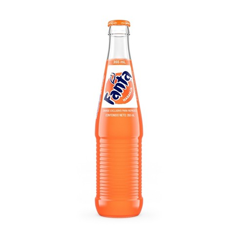 Fanta Orange de Mexico Soda - 355ml Glass Bottle - image 1 of 3