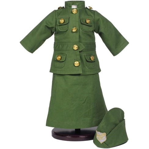 The Queen's Treasures® 18 Inch Doll Historic Clothes Outfit, Three Piece WWI Salvation Army Uniform - image 1 of 5