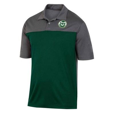 NCAA Colorado State Rams Men's Short Sleeve Polo Shirt