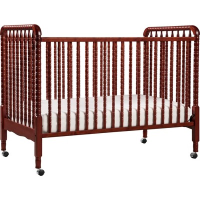 DaVinci Jenny Lind 3-in-1 Convertible Crib - Rich Cherry