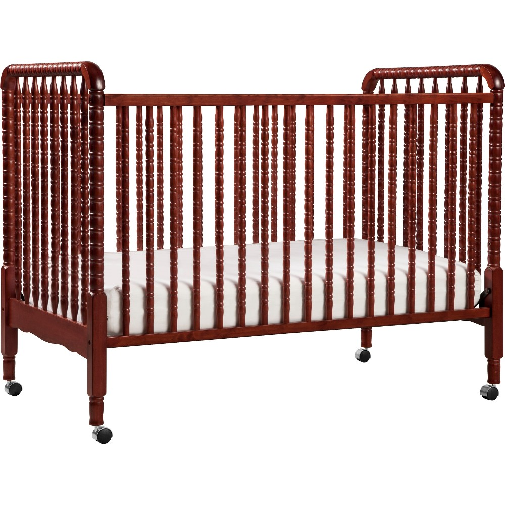 DaVinci Jenny Lind 3-in-1 Convertible Crib - Rich Cherry