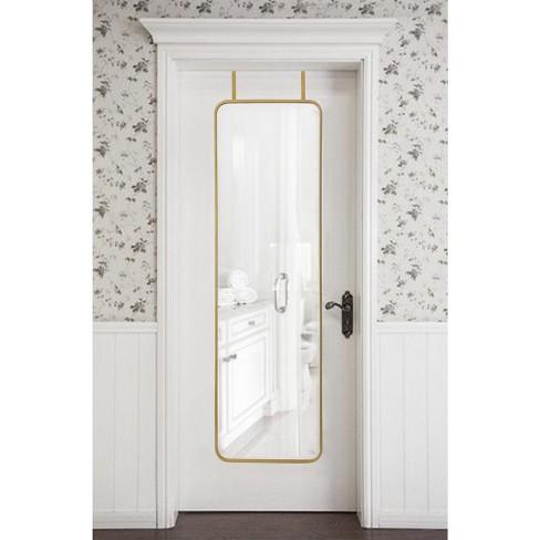 over the door mirror Over the Door Mirror Metal Brass   Project 62™ : Target over the door mirror