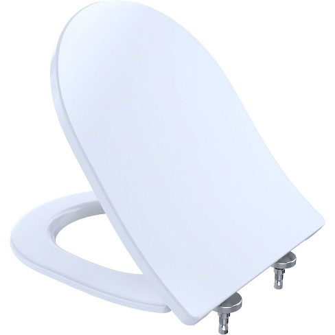 Miraculous Toto Ss237 D Shaped Closed Toilet Seat Theyellowbook Wood Chair Design Ideas Theyellowbookinfo