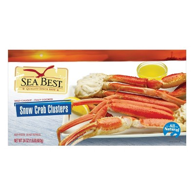Sea Best Snow Crab Clusters - Frozen - 24oz