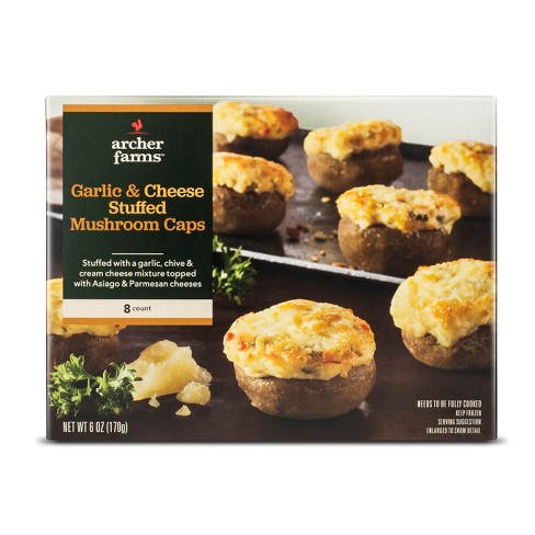Garlic & Cheese Stuffed Mushroom Caps - 8pk/150g - Archer Farms™ - image 1 of 1