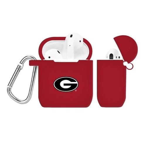 best website 796e1 e230a NCAA Georgia Bulldogs Silicone Cover for Apple AirPod Battery Case