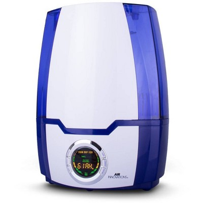 Air Innovations 1.37 Gal Ultrasonic Cool Mist Humidifier with Aroma Tray Blue