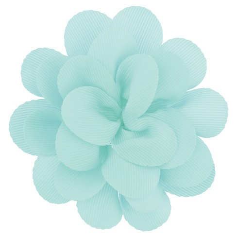 Girls' Bow Clip - Cat & Jack™ Mint One Size - image 1 of 3