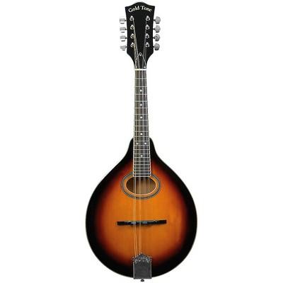 Gold Tone Left-Handed A-Style Mandolin with Pickup Vintage Sunburst