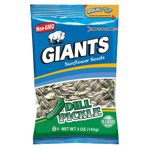 Giants Dill Pickle Sunflower Seeds 5oz - image 1 of 1