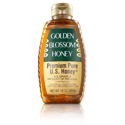 Golden Blossom Honey Premium Pure U.S. Honey - 16oz