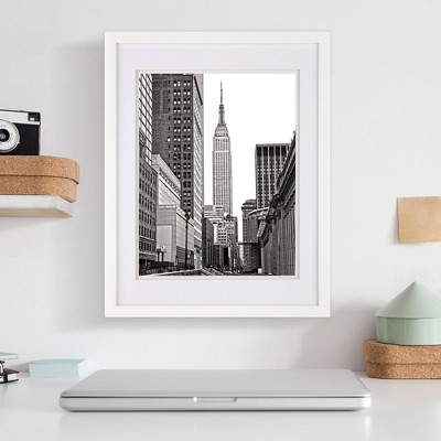 """14"""" x 18"""" Frame White - Gallery Solutions"""