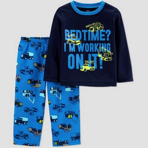 6f8b21ba2 Toddler Boys  Construction 2pc Pajama Set - Just One You® made by ...