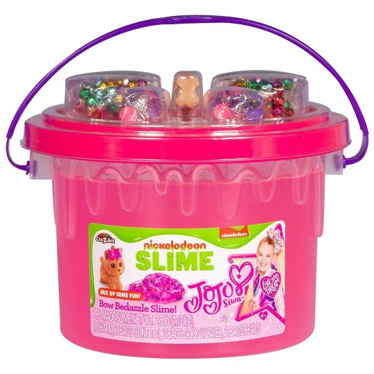 Nickelodeon JoJo Bow Bedazzle Slime by Cra-Z-Art image number null
