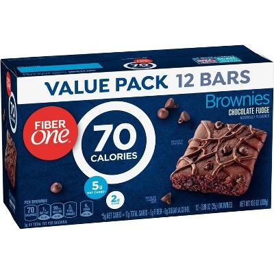 Fiber One Chocolate Fudge Brownies - 10.6oz - 12ct