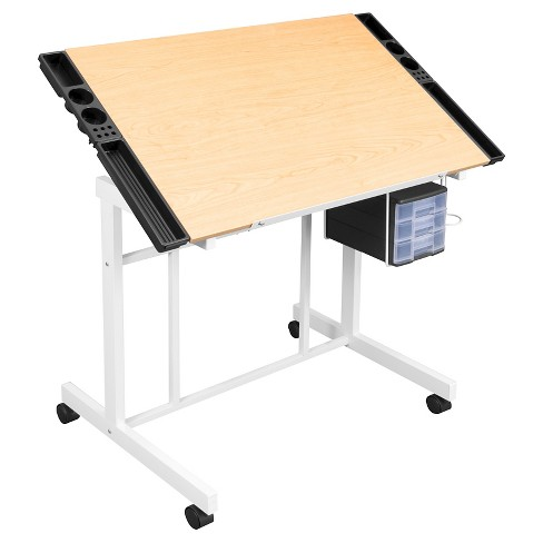 Deluxe Craft Station - White/Maple - image 1 of 2