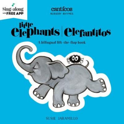 Little Elephants/Elefantitos Bilingual (Board Book)(Susie Jaramillo)