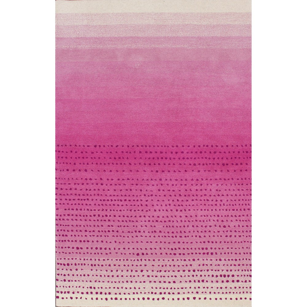 nuLOOM Hand Tufted Wool Morderna Ombre Area Rug - Pink (5'x8')