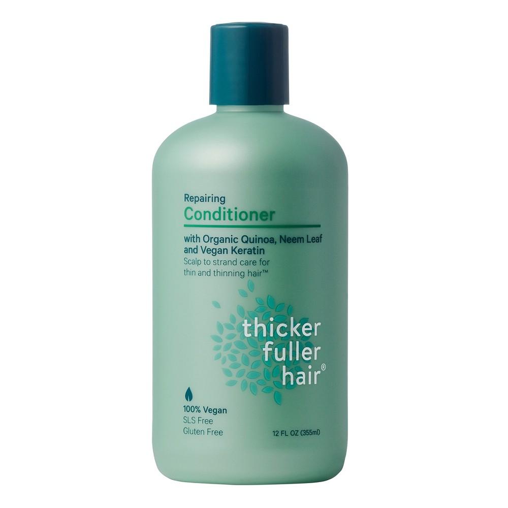 Image of Thicker Fuller Hair Repairing Conditioner with Organic Quinoa, Neem Leaf and Vegan Keratin - 12 fl oz