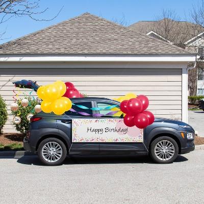 Birthday Parade Car Party Decoration Kit