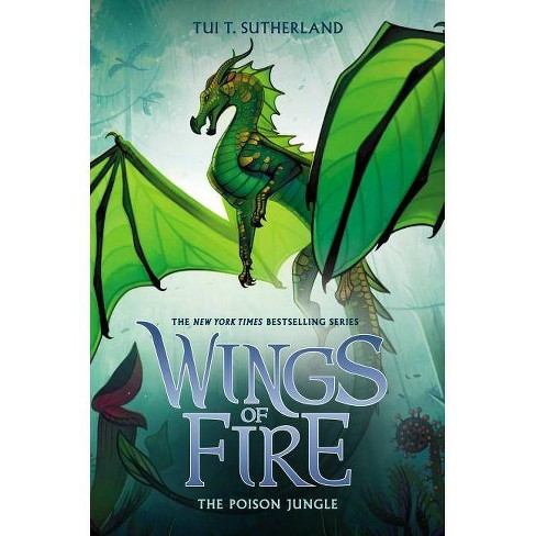 Poison Jungle -  (Wings of Fire) by Tui Sutherland (Hardcover) - image 1 of 1