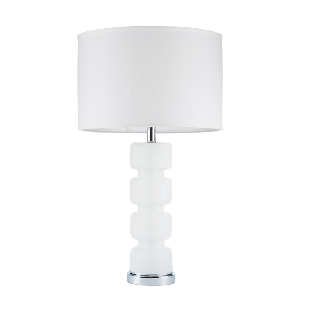 """Image of """"16"""""""" x 28.75"""""""" Emery Table Lamp (Includes Energy Efficient Light Bulb) White"""""""