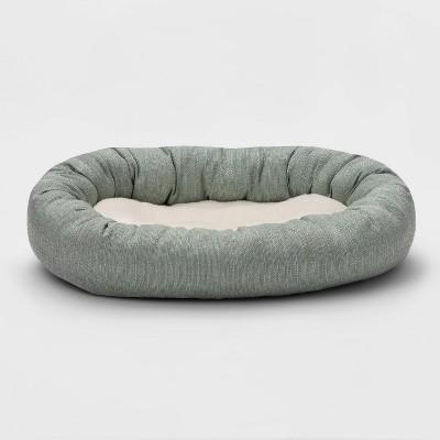 Rectangular Cuddler Dog Bed - M - Boots & Barkley™