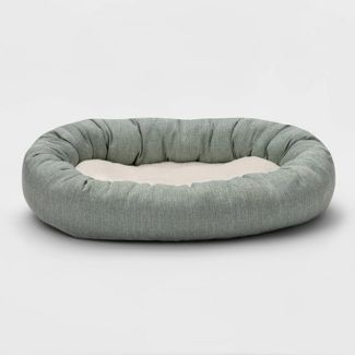 Rectangular Cuddler Dog Bed - M - Boots & Barkley™