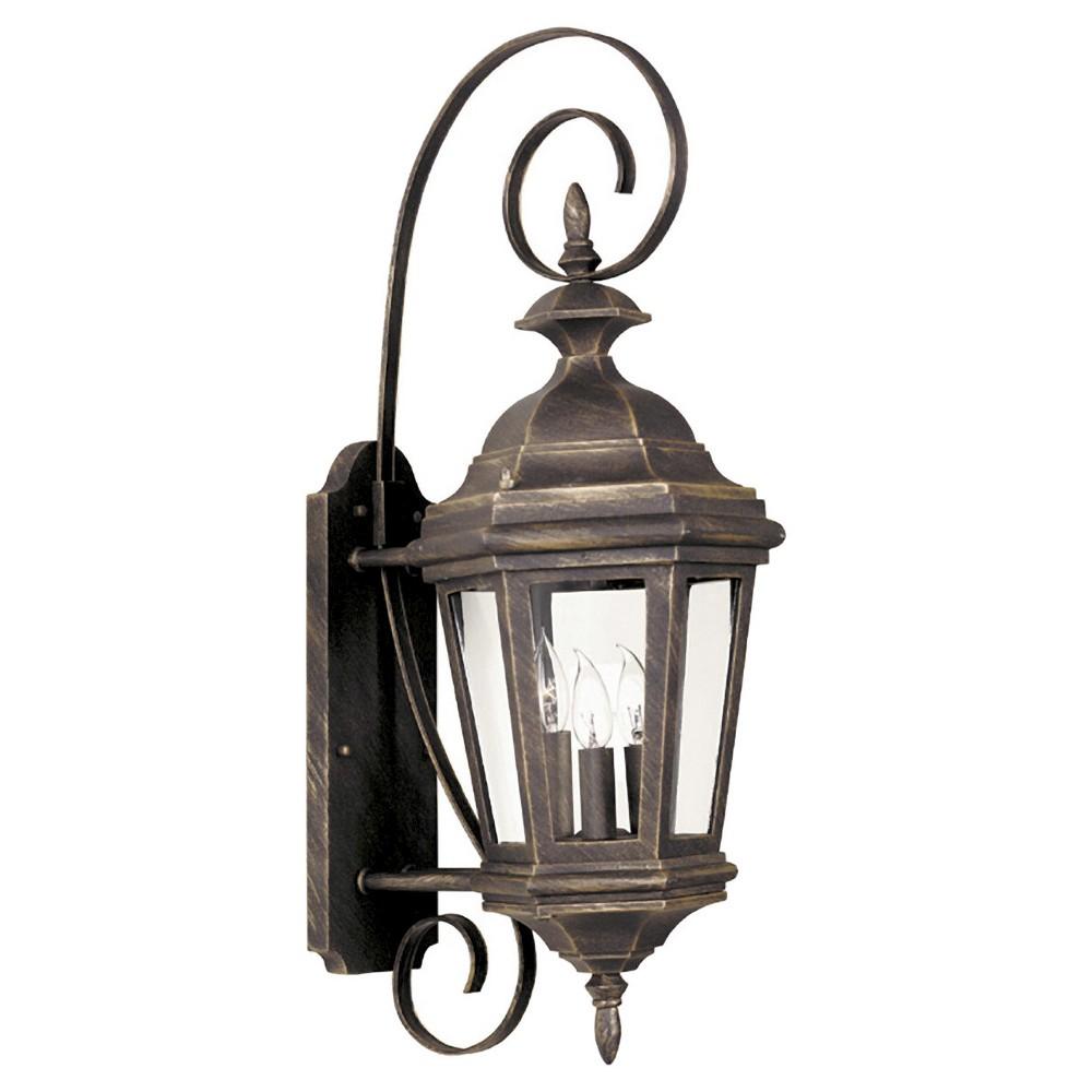 Image of Outdoor Lantern Kenroy Pewter (Silver) Aluminum