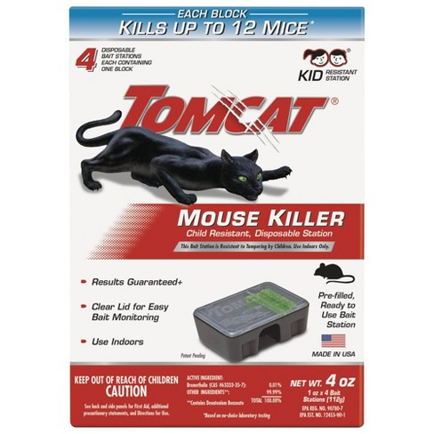 TomCat Mouse Killer II Disposable - 4ct - image 1 of 4