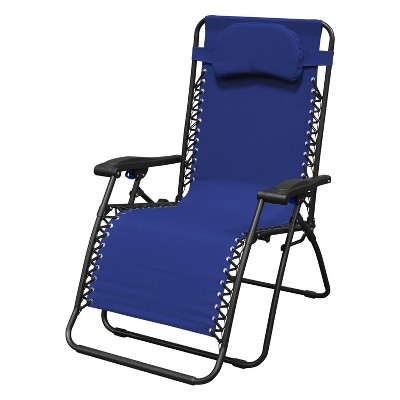 Oversized Infinity Zero Gravity Chair - Blue - Caravan