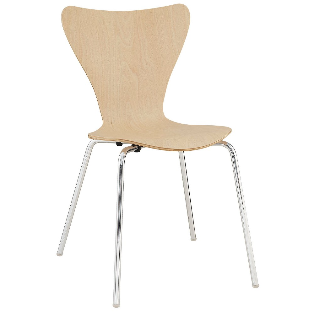 Ernie Dining Side Chair Natural - Modway